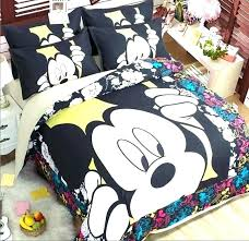 mickey twin bedding mouse comforter set popular king blue