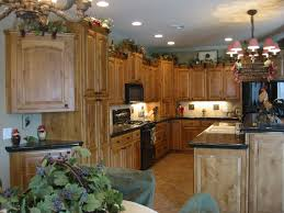 Knotty Alder Cabinets With Fruitwood Stain Dream House Ideas