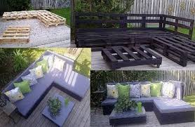 cool garden furniture. Cool Patio Furniture Ideas 22 Easy And Fun Diy Outdoor Garden Pictures I