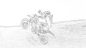 Top 25 truck coloring pages: Motocross Coloring Pages Page 1 Line 17qq Com