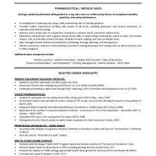 Sample Resume For Entry Level Pharmaceutical Sales Rep Fresh Medical ...