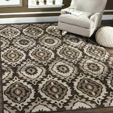 Brown And Cream Rug Red Area Rugs