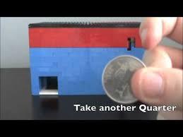 Lego Candy Vending Machine Adorable Money Taking Lego Candy MachineMechanism YouTube