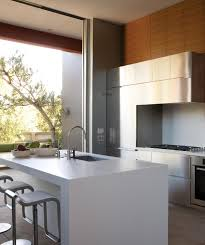 kitchensmall white modern kitchen. Awe Inspiring Modern White Small Kitchen Design Ideas With Custom Counter Island And Built In Cabinets Open Views Designs Kitchensmall