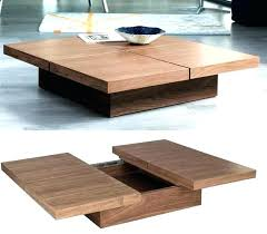 wooden coffee table plans modern wood designs