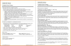 How To Write A Tech Resume Technical Writer Resume Capable Gallery How Write A Tech 24 Nyc 24 21