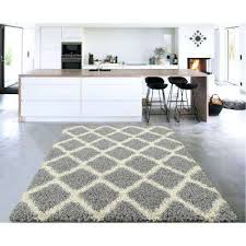 cozy collection gray and cream trellis design 5 ft x 7 white rug 5x7 furniture