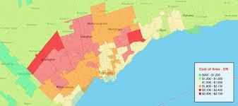 car insurance map toronto and gta