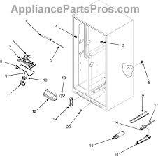 whirlpool wpw10128551 evaporator fan motor appliancepartspros com part diagram