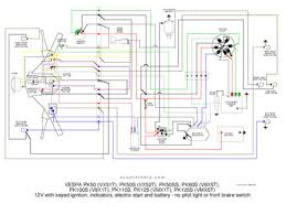vespa px wiring loom diagram vespa image wiring pk 12v elestart no pilot light on vespa px wiring loom diagram