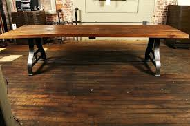 cast iron legs for table industrial plank top dining table rough pine wood cast iron legs cast iron legs for table