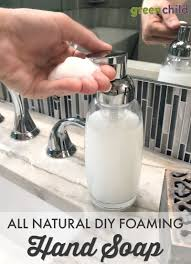 all natural diy foaming hand soap is easy and inexpensive to make it s safer for