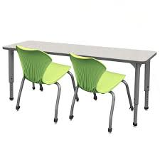 stock 29350 marco group 38722 classroom set 10 apex double student desks 20 stack chairs