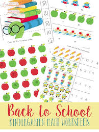 FREE Kindergarten Math Worksheets   Free Homeschool Deals ©