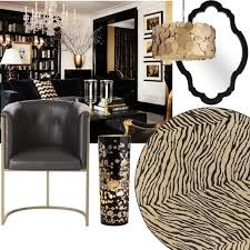 Small Picture Black And Gold Home Decor Coco Chanel And Chanel Symbol Gold