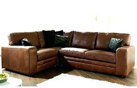 brown leather l shaped couch couches t m f repair leather repair las vegas chair repair las vegas