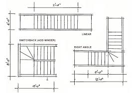 Stair Floor Plan architectural designs