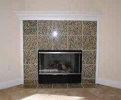 granite tile fireplace surround