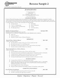 Resume Templates College Student Recent Resume Template College