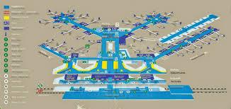 frankfurt airport map terminal  lufthansa