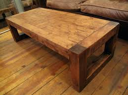reclaimed timber coffee table wood canada square tables for