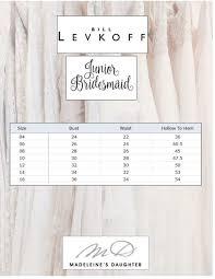 Bill Levkoff Size Chart Madeleines Daughter Bridal Wedding Dresses Boston Bill