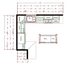 L shaped kitchen floor plans how to make your own design ideas 19
