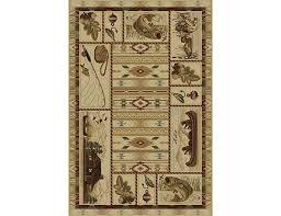 angler s delight 5 3 x 7 3 area rug