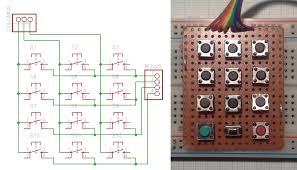 project logs • pro trinket usb keyboard • hackaday io via a quick search i found the arduino keypad library that sounded pretty good since it would allow me to use 12 buttons only 7 pins instead of