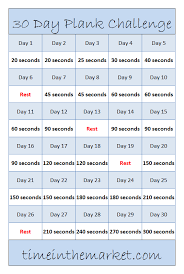Beginner 30 Day Plank Challenge An Easy Workout To Build