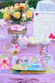 Princess Party Decoration Princess Party Table Setting Ideas And Decorations Future