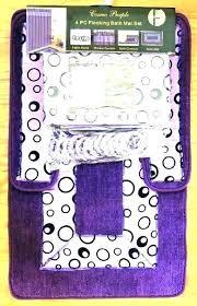lavender bathroom rug set dark purple bath rug dark purple bathroom rug set bath and black
