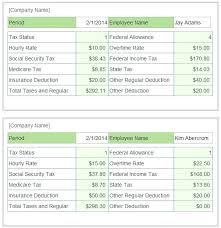 Pay Stub Template Excel Free Paycheck Stub Template Excel