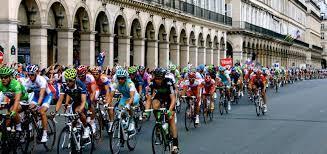 the tour de france in paris
