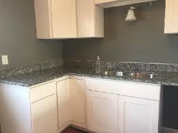 4 inch granite backsplash and matching countertop installed in brookfield kitchen