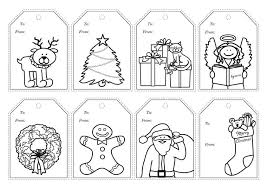 There are 13 designs, so there is sure to be one you love. Colour In Christmas Gift Tags Free Printable Kidspot