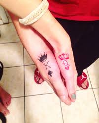 King And Queen Tattoo Tatuaggi Tatuaggi