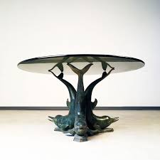 dolphin coffee table 1970 s
