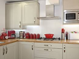 Kitchen Accessory Kitchen With Red Accessories And White Range Using Red Kitchen