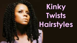 Kinky Twist Hairstyles Beautiful Kinky Twists Hairstyles For Natural Curly Hair Youtube