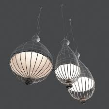 karman lighting. karman le trulle ceiling light 3d model max obj 3ds fbx mtl 3 lighting