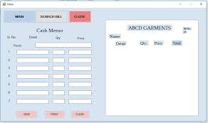 Create Cash Memo Application By Using Text File Billing