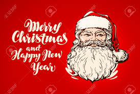 merry christmas and happy new year banner. Wonderful Happy Merry Christmas And Happy New Year Banner Santa Claus Stock Vector   67209164 Inside And Year Banner H