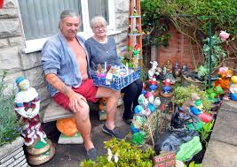 Kevin Keenan's impressive gnome and statue collection - CoventryLive