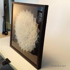 modern wall art framed 3d shadow box