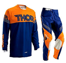 Bits - Pants navy Bargain Jersey Phase amp; Orange Bike Motocross S16 Thor Ktm Combo