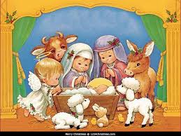 Christmas Scenes Free Downloads Collection Of Christmas Nativity Scene Wallpaper On Manger