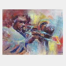 as a new orleans jazz painter among other jazz artists i joined the world of acrylic painters when i moved from watercolors to acrylics to better express
