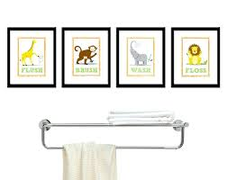 wall decals for kids bathroom amazing decor art four 875 wall