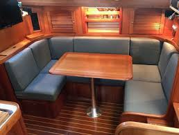 boat cushions bench